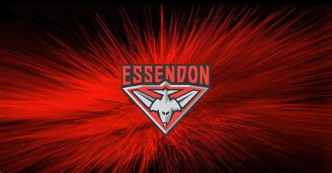 The essendon bombers have become the first team since august 2019 to defeat the west coast eagles in perth in a regular season game. 14+ Essendon Football Club Wallpapers on WallpaperSafari