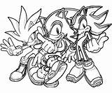 Sonic Coloring Pages Hedgehog Silver Exe Team Shadow Printable Generations Super Werehog Surfing Getdrawings Colorings Sheets Getcolorings Paid Drawing Christmas sketch template