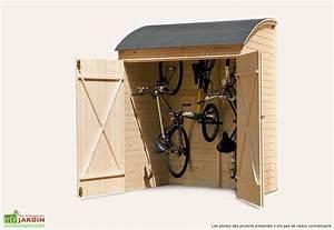 Cabane A Velo : coffre de rangement bois pour v los 134x160 cabane de cour pinterest velo pour enfant ~ Carolinahurricanesstore.com Idées de Décoration