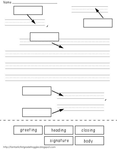 letter writing cut  gluepdf post office  grade