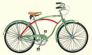 Frank Schwinn Designed Curved Bike Frame