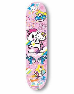 Hello Kitty Decke : tokidoki hello kitty limited edition skateboard i need this pinterest skateboard hello ~ Sanjose-hotels-ca.com Haus und Dekorationen