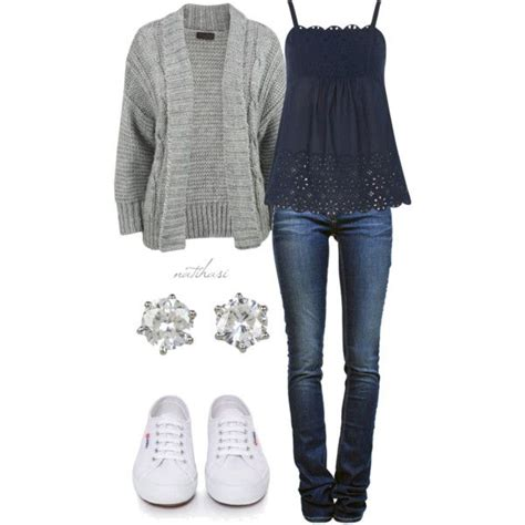 Comfy Casual School Outfit | *Clothes~Bags~Tats~Nails* | Pinterest