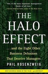 Marketing Research Essay The Halo Effect Business Book Wikipedia