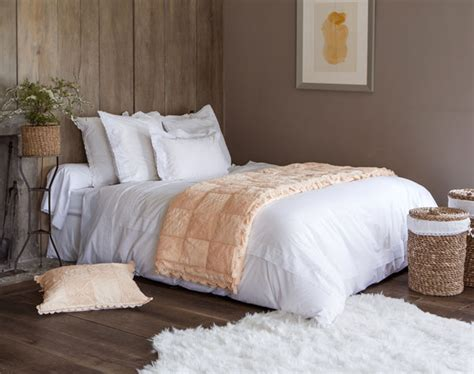 Linge De Lit Percale Broderie Anglaise