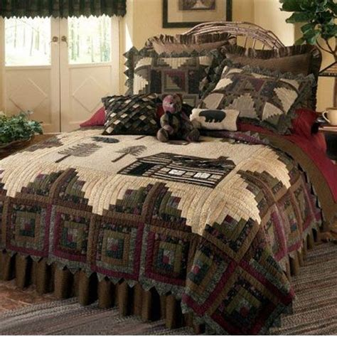 Northwoods Crib Bedding by Best 20 Rustic Quilts Ideas On Free Motion