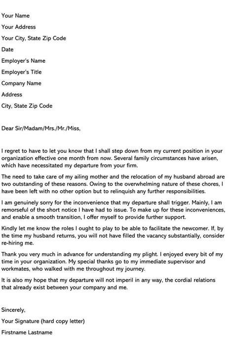 64 Amazing Resignation Effective Image Inspirations – resignation letter