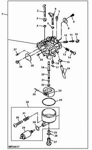34 John Deere Lx188 Parts Diagram