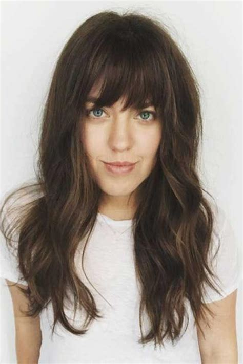 style hair with bangs 2018 haircuts styles with bangs 9359