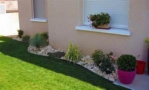 Jardin Deco Exterieur : deco jardin devant maison ~ Nature-et-papiers.com Idées de Décoration
