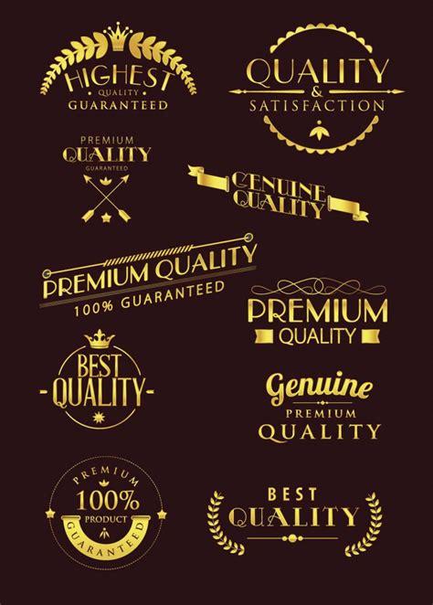 luxury typography logo vector
