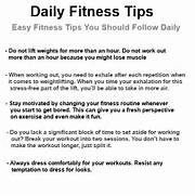 ... Fitness Tip...