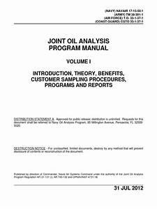 Joint Oil Analysis Program Manual