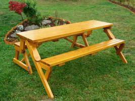 gartenmöbel backnang picknick tisch und gartenbank in einem in backnang holz