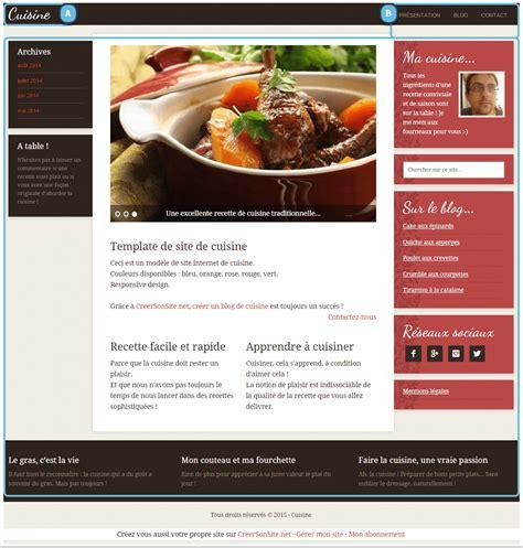 site de cuisine de chef cuisine quatre trã s beaux designs de site autour de la