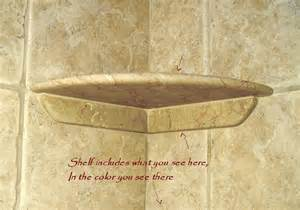 Stone Shower Shelf by Shower Shelf To Install To Existing Tile After Tile Install