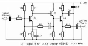 rf amp wide band With 20db vhf amplifier
