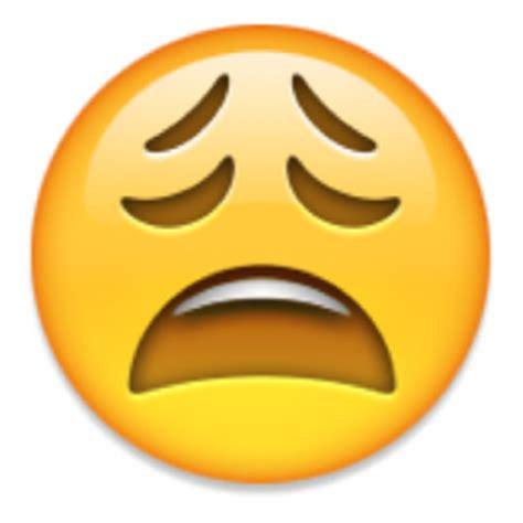 Weary Face Emoji (u+1f629/u+e403