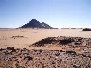 Libyan Desert Egypt Map