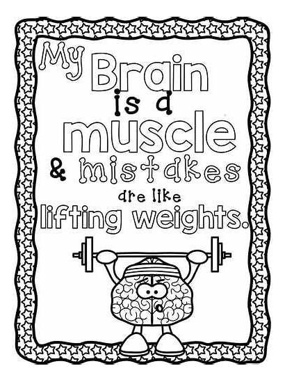 Mindset Growth Coloring Pages