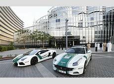 Dubai police parade astonishing supercar collection