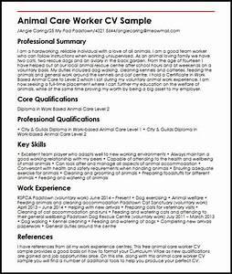 Animal Control Worker Sample Resume / astana-hotel.info