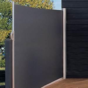Sichtschutz balkon stoff grau innenraume und mobel ideen for Markise balkon mit tapeten wohnzimmer modern grau