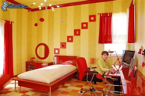 Kinderzimmer Junge Rot by Rot