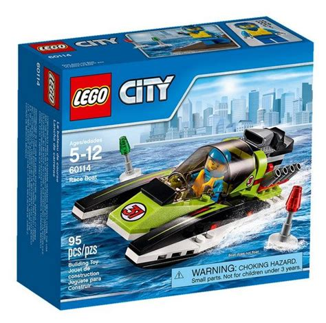 Lego Boat Racer by Lego City 2016 The Official Set Boxes I Brick City