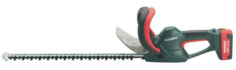 taille haie a batterie tailles haies 224 batteries metabo ash 36 65 li
