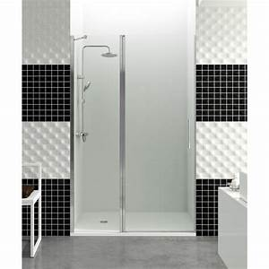 paroi de douche porte battante helia c robinet and co With porte battante de douche