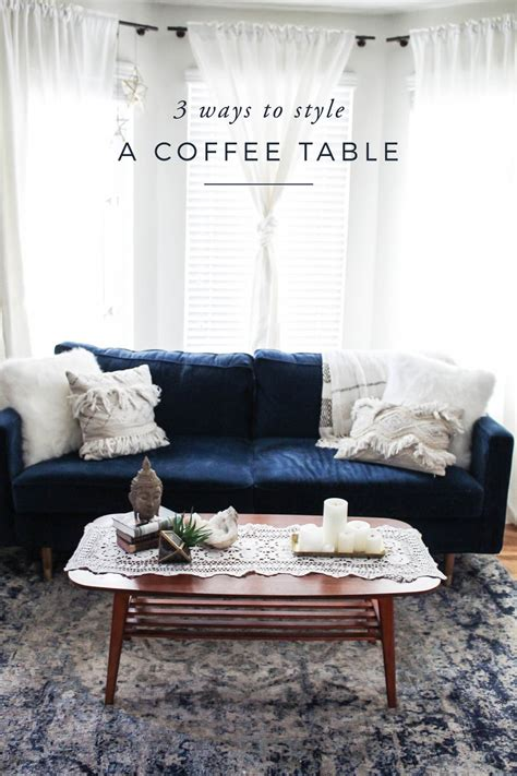 August 14, 2017 design ideas, interiors. 3 Ways to Style a Coffee Table - Advice from a Twenty Something