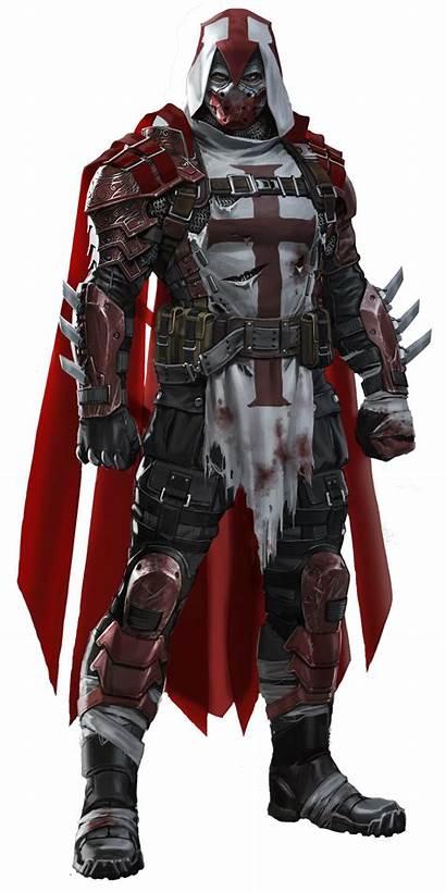 Azrael Knight Deviantart Arkham Transparent Batman Fantasy