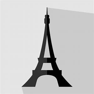 Vector for free use: Eiffel tower vector