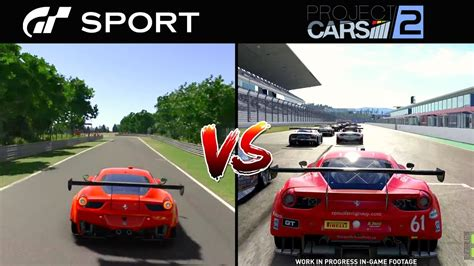 sport gt cars project vs graphics ferrari