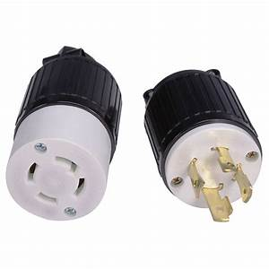 Buy Plug L14 30 30a 125  250v 30p Locking Generator Cable