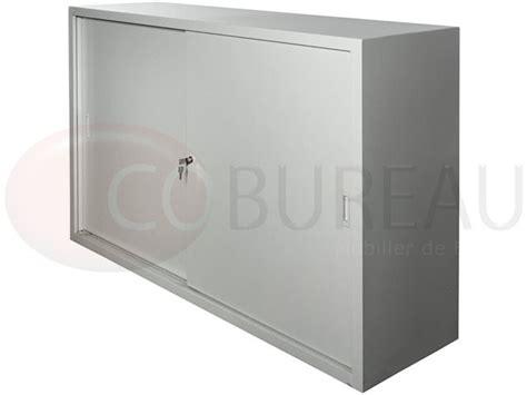 armoire m 233 tallique basse 224 portes coulissantes