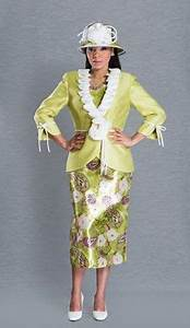 Giovanna Snazzy Church Suit Suit 0527