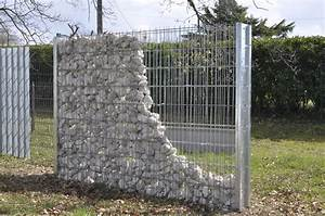 mur en gabion wikiliafr With amazing amenagement jardin avec pierres 15 parement mur exterieur 1
