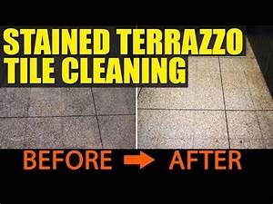 Terrazzo floor restoration do it yourself doovi for How to remove stains from terrazzo floors