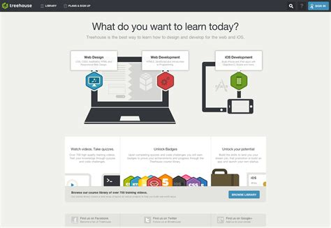 learn web design 30 amazing landing pages for your inspiration