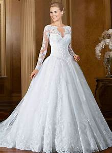 white wedding dresses with long sleeves dresscab With long white wedding dresses