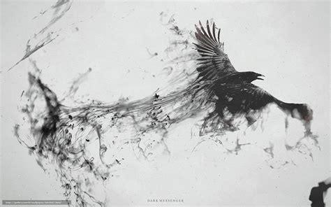 corbeau bureau tlcharger fond d 39 ecran corneille corbeau vol fumer