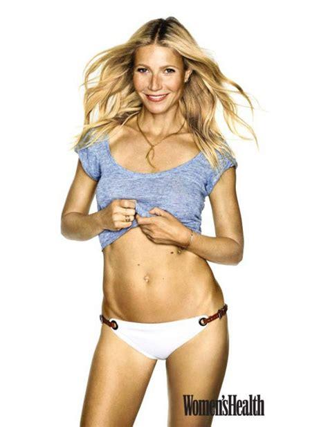 sanya mateyas bikini gwyneth paltrow flaunts her midriff in women s health shoot