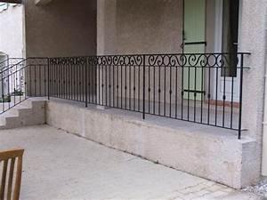 Garde Corps Escalier Fer Forgé : 21 best fer forg images on pinterest wrought iron banisters and home ideas ~ Nature-et-papiers.com Idées de Décoration