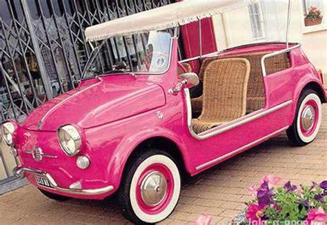 Cute Fiat Micro Car With Canopy And Wicker Seats! Neatorama