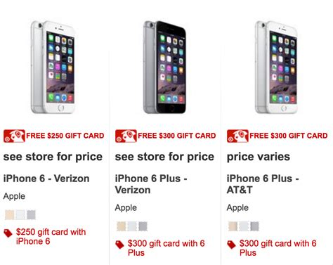 target card phone 250 target gift card with new iphone 6 southern savers