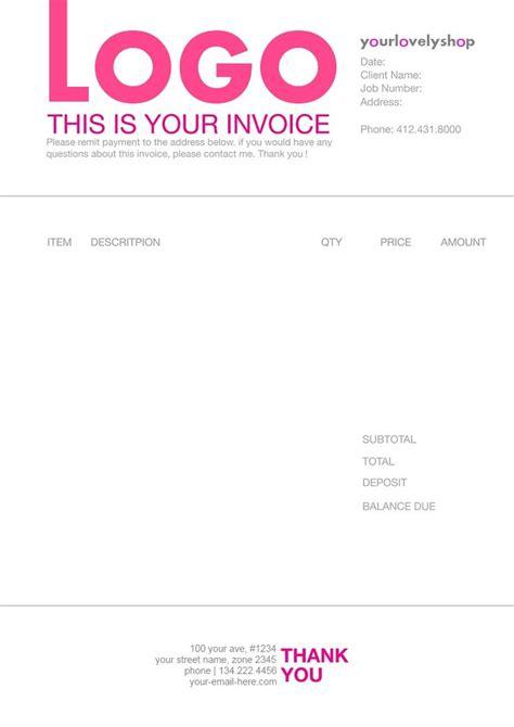 images  invoice design  pinterest invoice