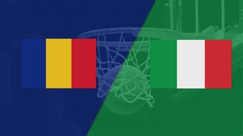 romania  italy fiba world cup  qualifier watchespn