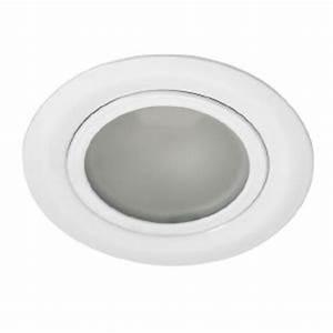 Spot Encastrable Extra Plat : spot extra plat encastrable gavi finition blanc 12v kanlux ~ Edinachiropracticcenter.com Idées de Décoration